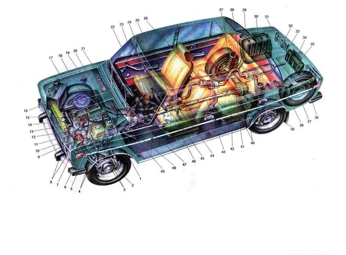 Схема зарядного устройства + для скутера