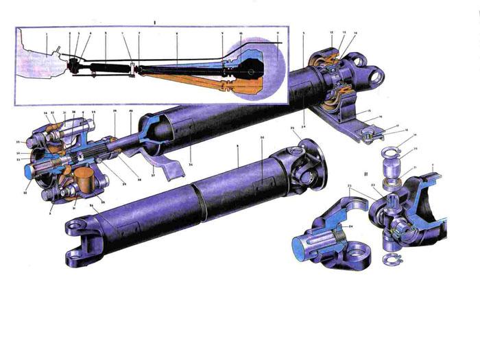 Ремонт карданного вала ваз - Каталог.